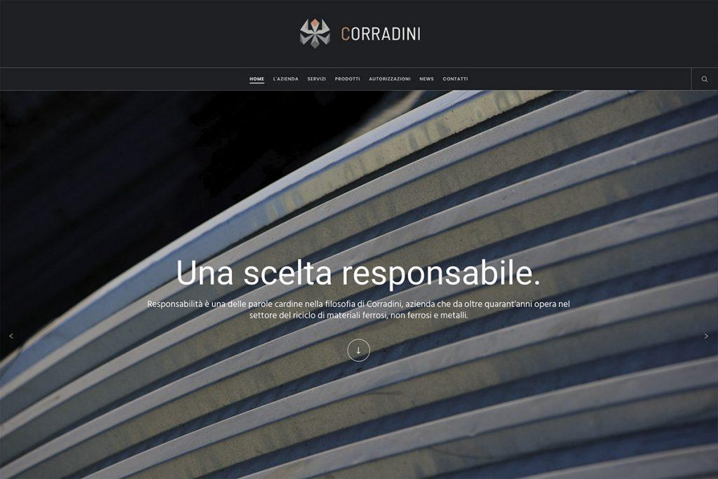 Corradini Sito Web