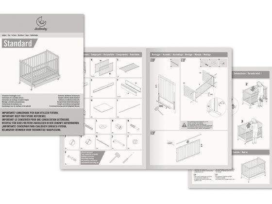 Italbaby Istruzioni Lettino Standard