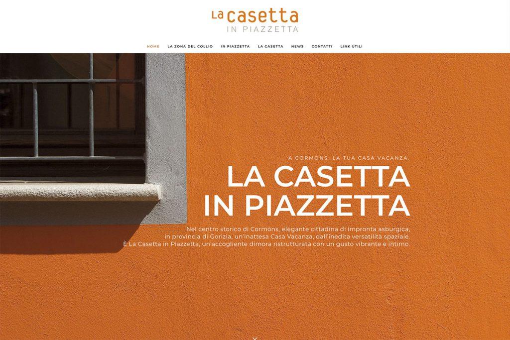 La Casetta in Piazzetta Sito Web