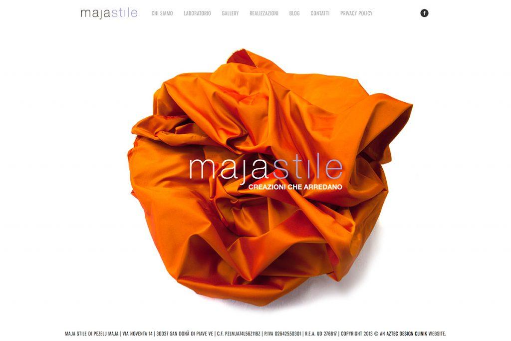 Maja Stile Sito Web