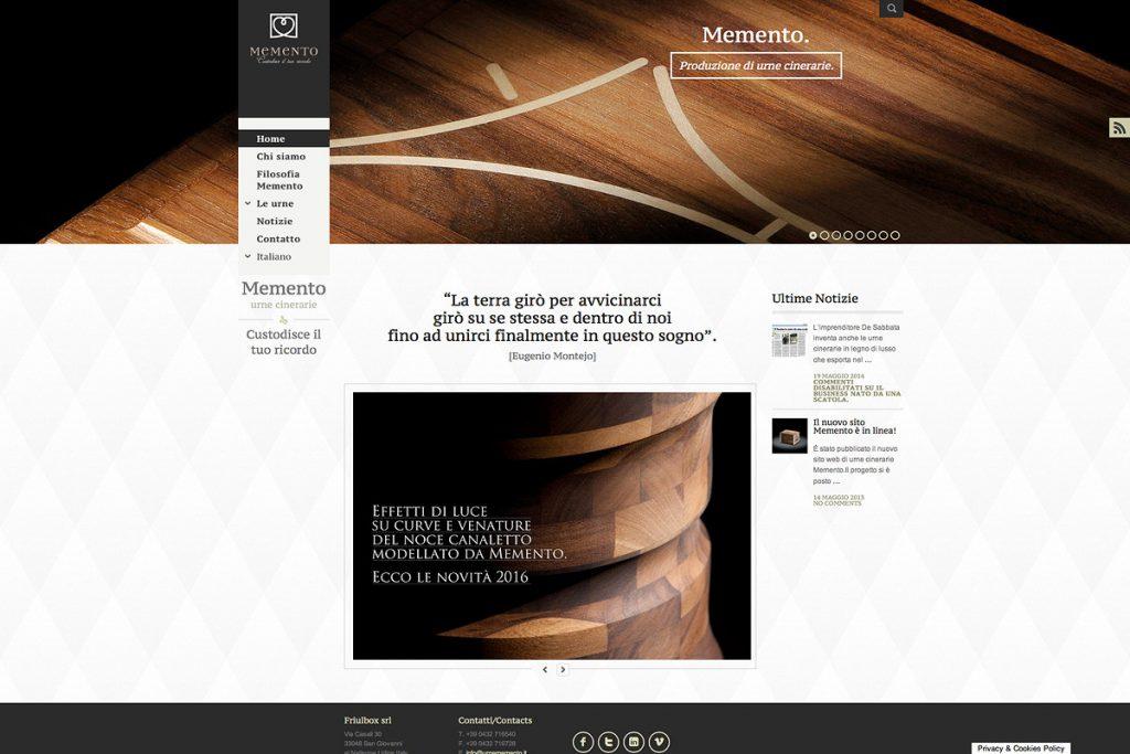 Memento Sito Web