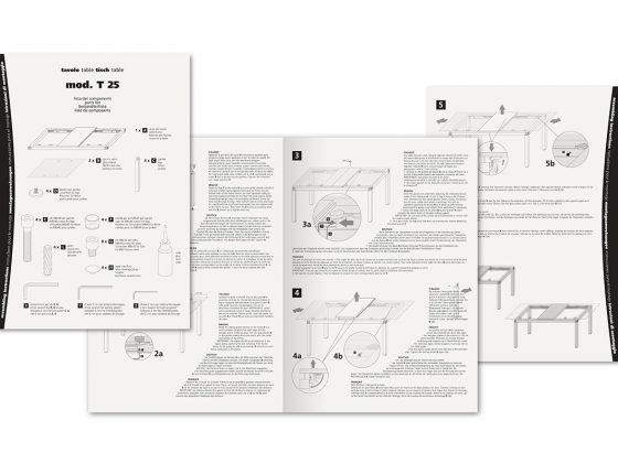 Offix Istruzioni Tavolo T25