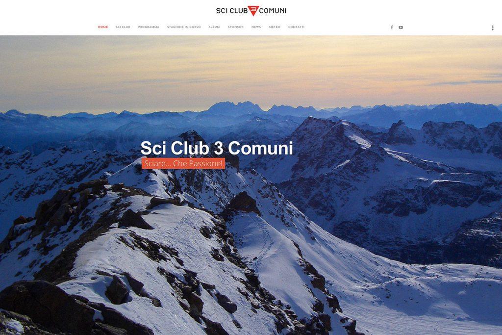 Sci Club 3 Comuni Sito Web