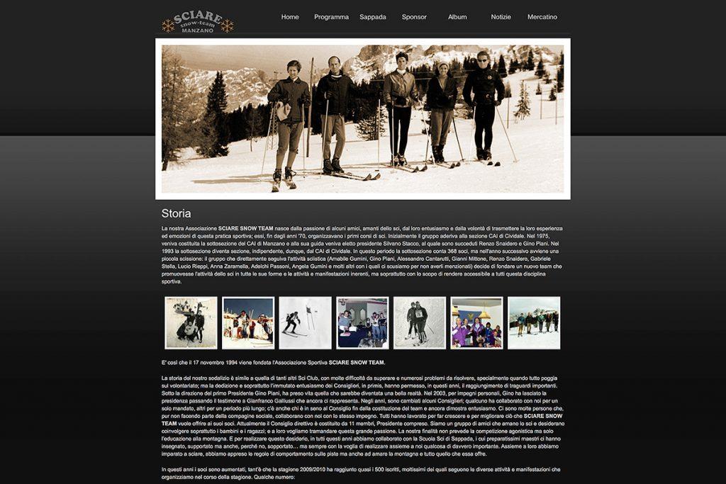 Sciare Snow Team Sito Web