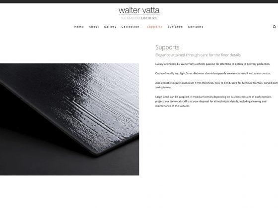 Walter Vatta Sito Web
